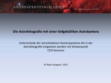 Die Astrofotografie mit einer tiefgekühlten Astrokamera