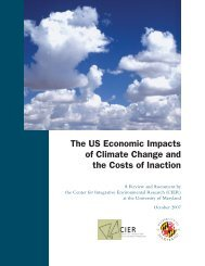 The US Economic Impacts of Climate Change and - Center for ...