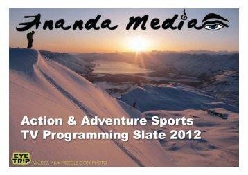 TV Slate - Ananda Media