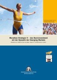 Marathon-Strategie II – das Basisinvestment mit der Dynamik der ...
