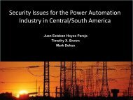 critical infrastructure protection - US-Cert
