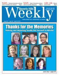 Thanks for the Memories - Beverly Hills Weekly