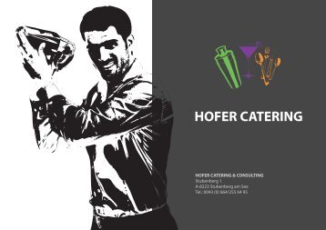 DOWNLOAD Firmenportfolio - Hofer Catering & Consulting