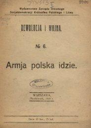 Armja polska idzie