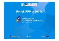 Rynek PPP w 2011r