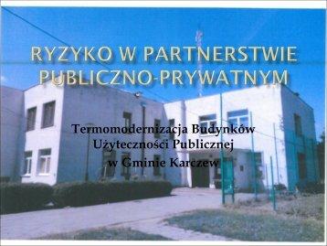 Użyteczności Publicznej w Gminie Karczew