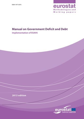 Manual on Government Deficit and Debt c