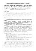 Instrukcja do praktyki pedagogicznej w przedszkolu i klasach I-III dla ... - Page 3