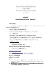 regulaminie. - Państwowa Wyższa Szkoła Zawodowa w Chełmie