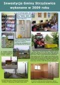 Inwestycje Gminy Strzyżewice wykonane w 2009 roku - Page 4