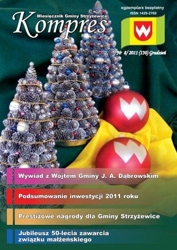 KOMPRES nr 8/2011 - Strzyżewice, Urząd Gminy