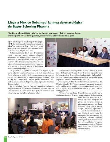 ,LEGA de Bayer Schering Pharma - Bayer de Mexico