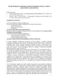 Zasady składania i wypełniania oświadczeń majątkowych przez ...