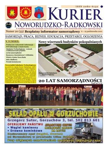 Nr 20 (33) - Noworudzki Park Przemysłowy - Agencja Rozwoju ...