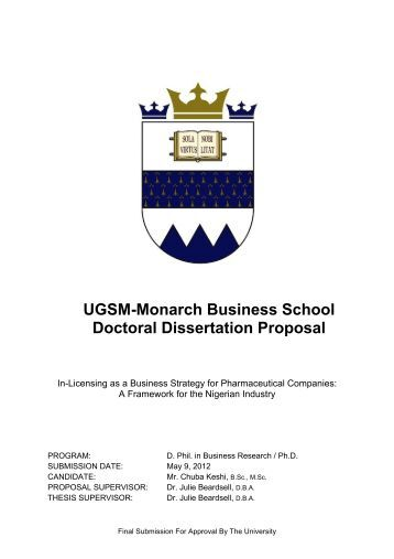 phd business dissertations