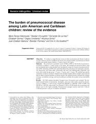 The burden of pneumococcal disease among Latin American and ...