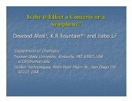 Is the α-Effect a Concerto or a Symphony? - Truman Chemistry ...