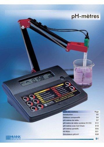 ph metre - MPQ Electronique