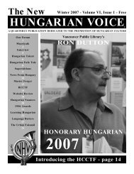 THE NEW HUNGARIAN VOICE WINTER 2007 (Read-Only)