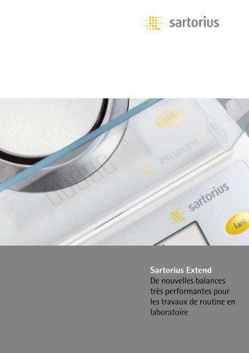 Sartorius Extend - Fisher UK Extranet
