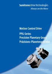 Motion Control Drive PPG-Series Precision ... - Micromech Ltd