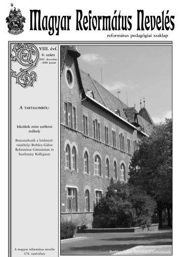 Magyar Református Nevelés