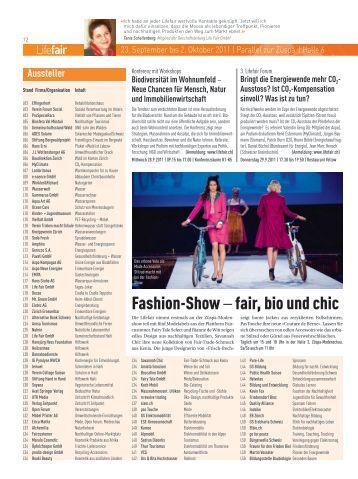 Fashion-Show – fair, bio und chic