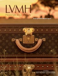 Consolidated Cash Flow Statement - LVMH