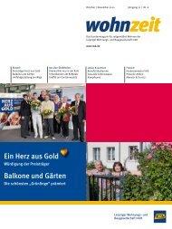 Ein Herz aus Gold Balkone und Gärten -  LWB
