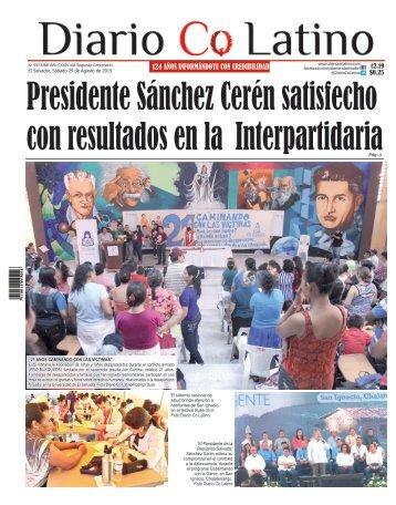 Edición 29 de Agosto de 2015
