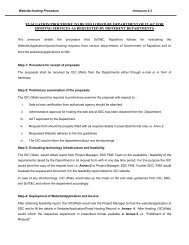Annexure -2.3 Evaluation procedure to be followed by ... - DOIT & C