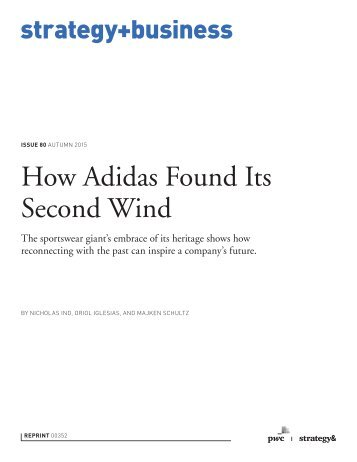 How Adidas Found Its Second Wind
