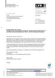 Rundschreiben des LVR-Landesjugendamtes vom 21.09.2012 zur