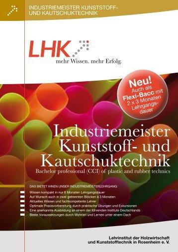 DER ROSENHEIMER INDUSTRIEMEISTER - LHK Rosenheim