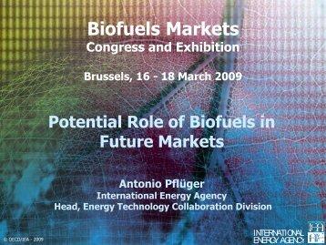 Biofuels Markets