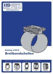 Breitbandschellen - HS-Befestigungssysteme