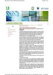 Página 1 de 5 Red Internacional de Bibliotecas Municipales 10/10 ...