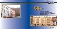 Almanach z roku 2005 vydaný u příležitosti 60 let existence školy