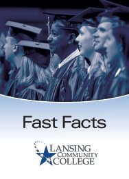 Fast Facts - Lansing Community College