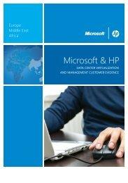Microsoft & HP - Amazon Web Services