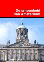 De schoonheid van Amsterdam