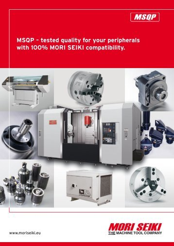 MSqP – tested quality for your peripherals with 100% MORI SEIKI ...