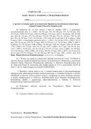 16) wyrażenia zgody na ustanowienie hipoteki na nieruchomości ...