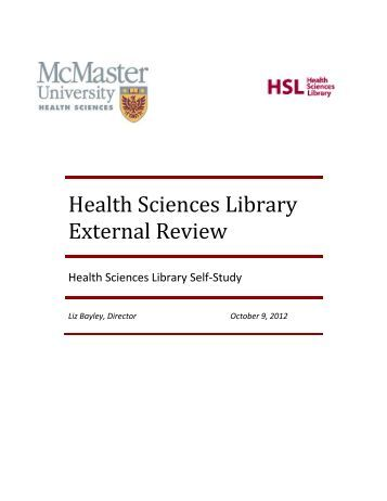 mcmaster health science essay We want to get to know you and help you navigate the admissions process learn more and introduce yourself to start the application process.