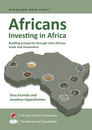 Investing in Africa - The Brenthurst Foundation