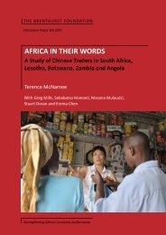 AFRICA IN THEIR WORDS