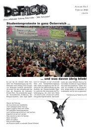 erste Ausgabe - International Business College Hetzendorf