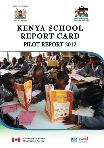 KENYA SCHOOL REPORT CARD