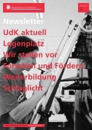 Newsletter Juni 2013 - Universität der Künste Berlin