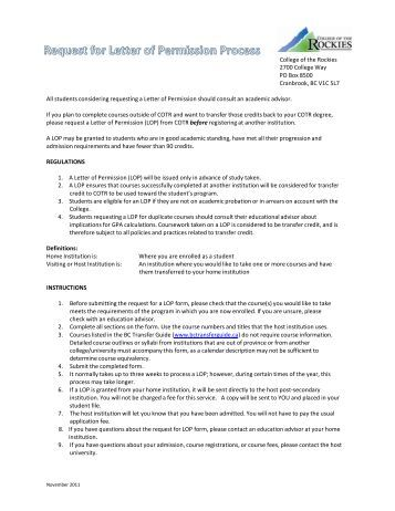Parental Permission Letter And Form For Groups